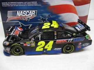 2012 JEFF GORDON #24 PEPSI MAX IT NOW NASCAR UNITES 1/24 WITH MATCHING