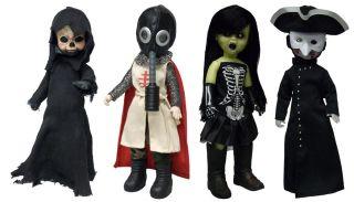 Mezco Living Dead Dolls The Four Horsemen of The Apocalypse