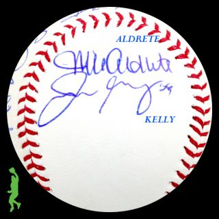 2012 ST. LOUIS CARDINALS TEAM SIGNED ROMLB BASEBALL BALL ADAM