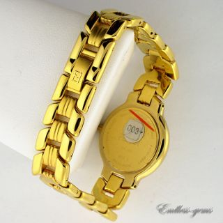 Fendi Ladies Swiss Made 900J Watch Gold Tone Registered Model