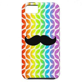 Mustache Rainbow Case iPhone 5 Covers