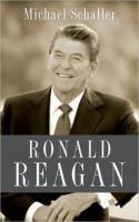 Ronald Reagan Biography Michael Schaller New Hardcover 1st Edition