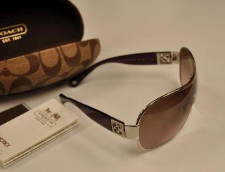 9c3328c5c7 ... get coach sunglasses hc 7005b l016 reagan 9016 14 silver purple 120  53b11 d90b4