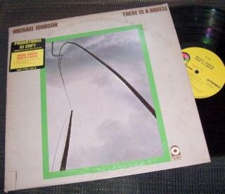 Michael Johnson There Is A Breeze 1973 Atco 7028