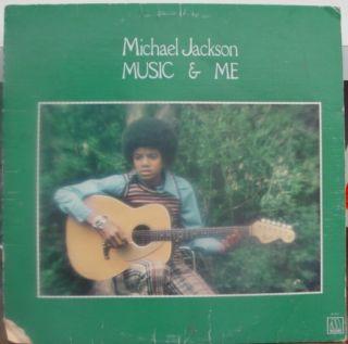 Michael Jackson Music Me LP VG M 767L Vinyl 1973 Record