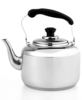 BergHOFF Tea Kettle, 2.5L Auriga Whistling Stainless Steel   Cookware