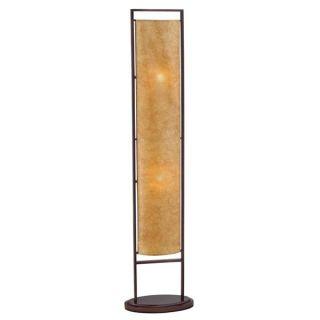 Serenity Antique Bronze Metal Frame Floor Lamp Lantern