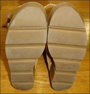 Michael Kors Boots Womens 10 Shearling Boots