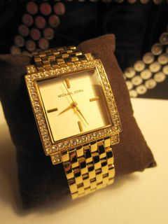 Just Amazing MICHAEL KORS Womens Watch Gold Stainless Steel MK3117