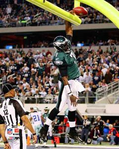 Michael Vick Touchdown Slam Philadelphia Eagles Print