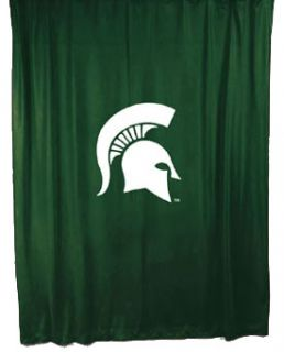 Michigan State Spartans NCAA Gift Shower Curtain New