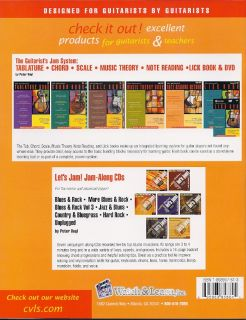 The Guitarists Note Reading Method Book 2CD Notation