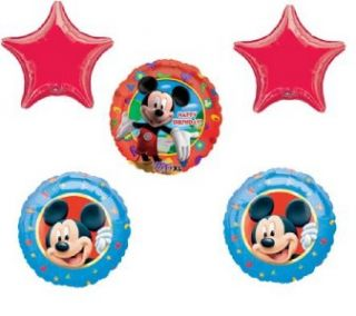Mickey Mouse Balloons Birthday Party Decorations New