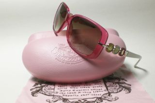 Juicy Couture Bronson Pink White 01M4 YY Sunglasses