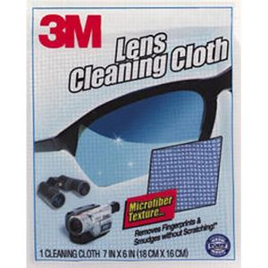 3M Scotchbrite Eyeglass Lens Microfiber Cleaning Cloth