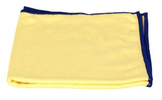 Yellow Starfiber Microfiber Miracle Cleaning Cloth 16 x 16