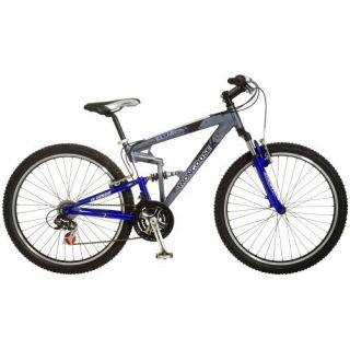 Mongoose Exile Dual Suspension Mountain Bike 26 Wheels