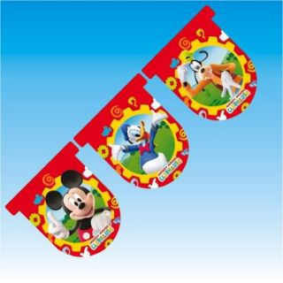 12ft Disney Mickey Mouse Clubhouse Flag Banner Bunting