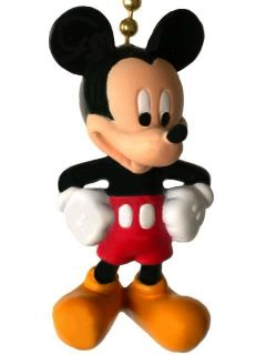 Mickey Mouse Disney Cartoon Minnie Decor Novelty Ceiling Fan Light