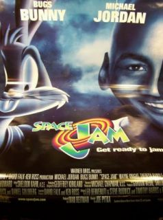 Warner Bros Michael Jordan Get Ready to Jam Movie Poster 40 x 27