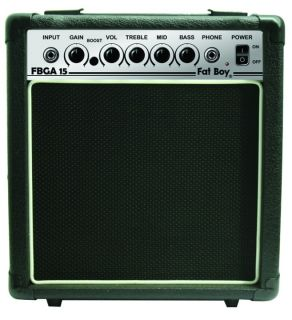 New High Quality Electric Guitar Amplifier 15 Watt Practice Amp