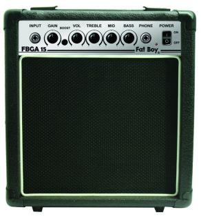 New High Quality Electric Guitar Amplifier 15 Watt Practice Amp