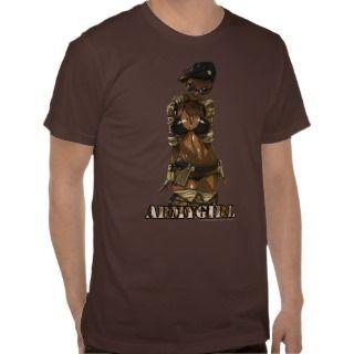 Army Girl T shirt