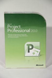 Microsoft Project Professional 2010 Full Retail H30 03318