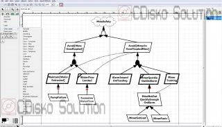 Visio 2003 2007 Alternative Diagram Flowchart Design CD for Windows XP