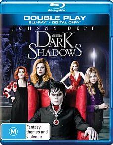 Depp, Johnny   Dark Shadows (Blu ray/ Digital Copy) Director Tim