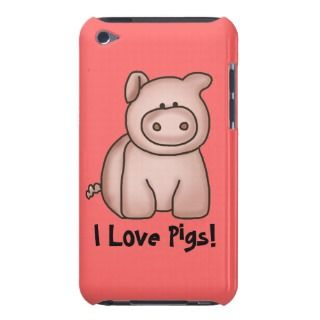 Love Pigs iPod Case iPod Case Mate Case