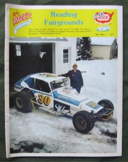 The Racer Reading Fairgrounds PA Modified Stock Car Racing 1979