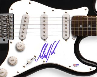 Rolling Stones Mick Taylor Autographed Signed Guitar PSA DNA UACC RD