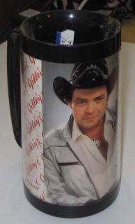 Mickey Gilley Thermo Serv Mug Plastic