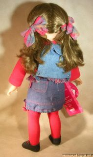 Gotz Doll Nathalie 45cm w All Tags Clean Girl w Backpack Made in