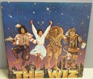 The Wiz Michael Jackson Diana Ross Richard Pryor Soundtrack Mint LP