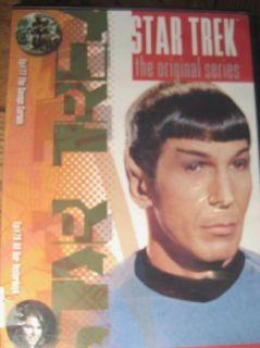 STAR TREK Original Savage Curtain & All Our Yesterdays DVD Kirk Spock