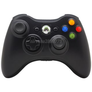 Wireless Remote Controller for Microsoft Xbox 360 Xbox360 Black