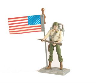 Gi Joe Duke with American Flag and Jetpack Loose Complete