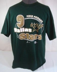 Mike Modano 9 Dallas Stars T Shirt XL
