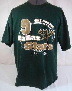 Mike Modano 9 Dallas Stars T Shirt XL