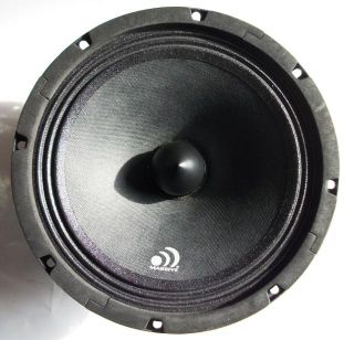 Massive Audio M8 8 in Mid Range 150w RMS,300w Max Car Stereo Speaker