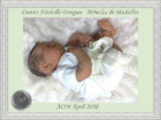 Reborn Baby Boy Camden by Donna Lee Xmas Pressie