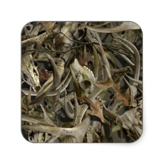 cool deer antler camouflage hunter stickers