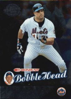 Mike Piazza RARE 2001 Donruss Bobble Head Class of 2001 Card 1762 2000