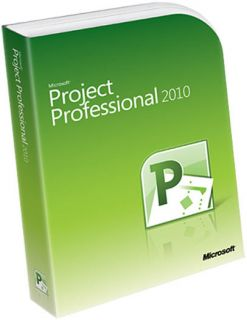Microsoft Project Professional 2010 Software FULL RETAIL (32/64 bit