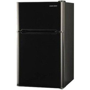 Refrigerator Freezer Combo Mini Fridge Black & Decker 3.3 cu ft 2 Door