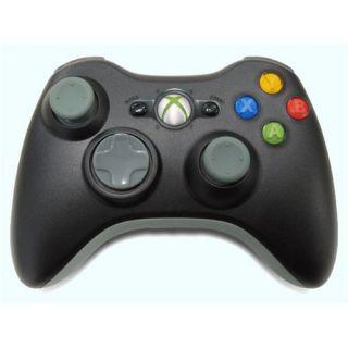 Microsoft Xbox 360 Wireless Controller   Black NSF 00001 OEM