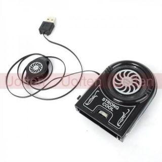 Mini USB Air Cooling Fan Pad Idea Cool Notebook Laptop Tabelt Cooler