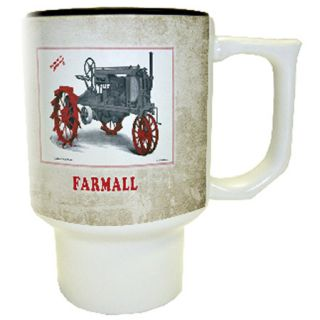 Farmall Vintage Tractor Ceramic Travel Mug 17oz New